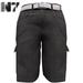 Nero - Gualtieri Cargo Shorts - Grey