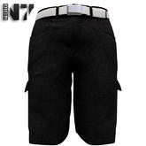 Nero - Gualtieri Cargo Shorts - Black