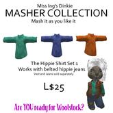 Miss Ing's Dinkie Hippie Shirt Set 1