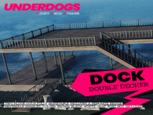 [UnderDogs] - Double Decker Boat Dock - Boat Slips - Modifiable