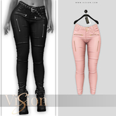 {ViSion} // Leather Pant Taylor - #10 - Maitreya, Legacy (f), Belleza Freya - Isis, Slink Hourglass