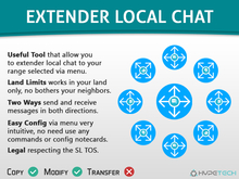 HypeTech - Extender Local Chat