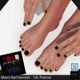 ::: Core ::: Men's Nail Varnish - Wet Look Set 1 [Promo!]