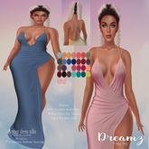DCI Amber dress silk with hud