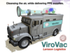 Capture Viruses While Driving With ViroVac Vaccum Truck!