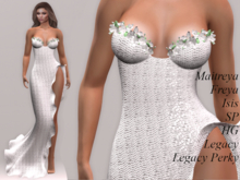 ~PP~ Shimmering Pure Flora Sequined Gown
