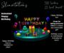 Slinvitations Animated Happy Birthday Card
