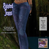 +DFF Painted Jeans #13