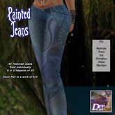 +DFF Painted Jeans #7
