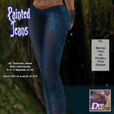 +DFF Painted Jeans #1