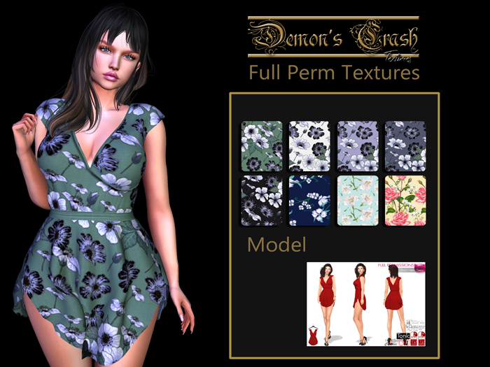 [DC] Textures - MI963845 Short Hem Dress - pack 1 - add
