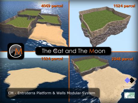 CM - Entroterra Platforms & Walls Modular System