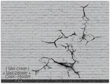 || When I'm Bored || Decor || Wall Sticker || Wall Crack