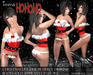 :;FIERCE DESIGNS::IMMA HO HO HO:: SANTA SUIT ::PROMO::