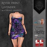 **Mistique** River Print Lavender (wear me and click to unpack)