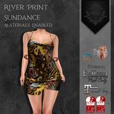 **Mistique** River Print Sundance (wear me and click to unpack)