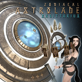 ::Static:: Zodiacal Astrolabe - Sagittarius (Wear and Click)