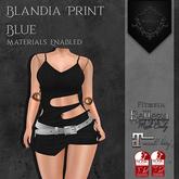 **Mistique** Blandia Print Black (wear me and click to unpack)