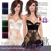Silk Dreams Esprit 2 Minidress - Value Pack w/Appliers