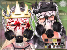 #187# Mad King Mask