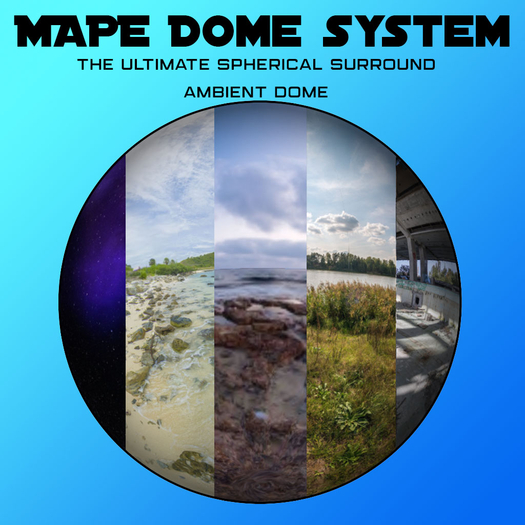 MAPE Dome System - ULTRA HD TEXTURE SPHERICAL DOME