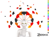 Zibska ~ Selene Color Change Headpiece and Orbit