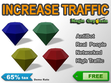 Magic Crystal Pack - Increase Traffic! | 65% tax Free Trial Version