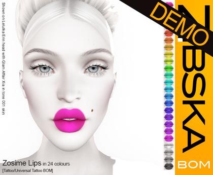 Zibska BOM Pack ~ Zosime Lips Demo [tattoo/universal tattoo BOM]