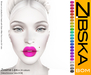 Zibska BOM Pack ~ Zosime Lips in 24 colors with tattoo and universal tattoo BOM layers
