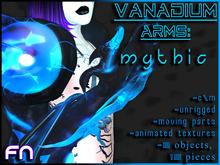 Unisex, Scifi, Fantasy - Vanadium Arms (Mythic)