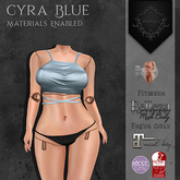 **Mistique** Cyra Top Blue (wear me and click to unpack)