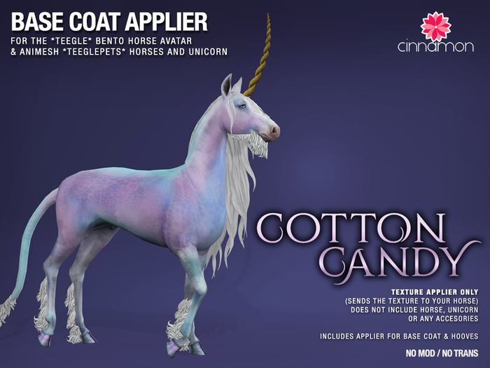 *CINNAMON* Teegle base coat_ Cotton Candy