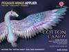 *CINNAMON* Teeglepet Pegasus Wings - Cotton Candy
