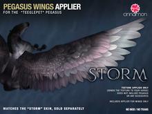 *CINNAMON* Teegle wings_ Storm -BOX (add me)