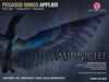 *CINNAMON* Teegle Pegasus Wings - Midnight
