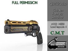 .::QUTWORLD Golden Fantasy Revolver::.FP