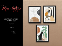 Moonley Inc. - Abstract Africa Frame Set