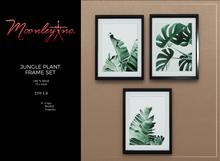 Moonley Inc. - Jungle Plant Frame Set