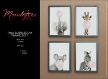 Moonley Inc. - Bubblegum Pink Frame Set 1