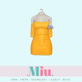 Miu - Ruby dress yellow