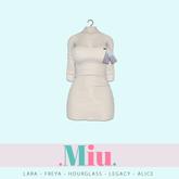 Miu - Ruby dress white