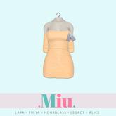 Miu - Ruby dress vanilla custard