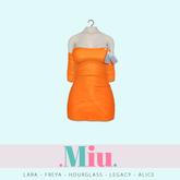 Miu - Ruby dress turmeric