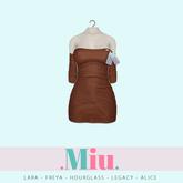 Miu - Ruby dress toffee