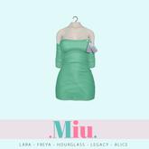 Miu - Ruby dress teal