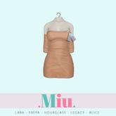 Miu - Ruby dress tan