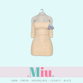 Miu - Ruby dress sweet corn