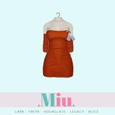 Miu - Ruby dress sugar almond