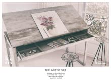 Atelier Burgundy + KraftWork . Artist Set