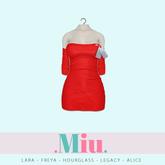 Miu - Ruby dress red